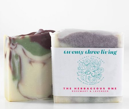 Twenty Three Living - 100% natural artisan soap skincare