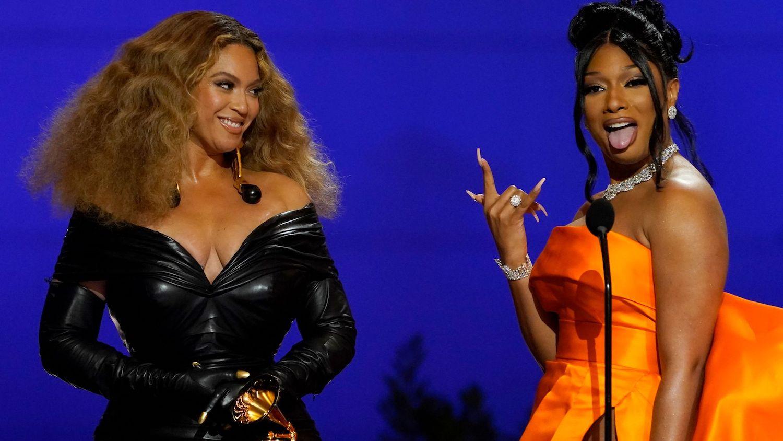 Beyonce and Megan