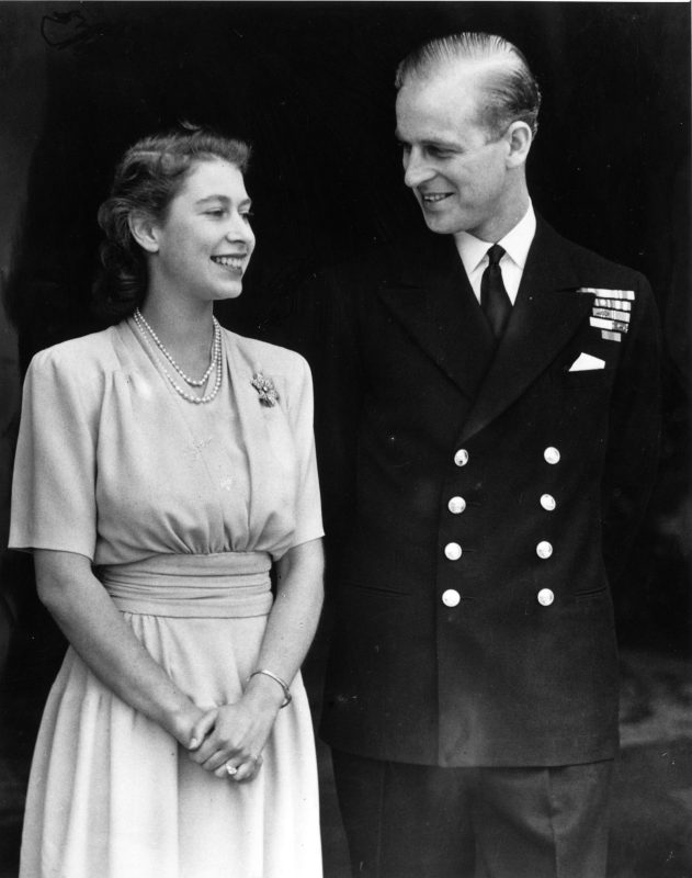 PRINCE PHILLIP AND QUEEN ELIZABETH
