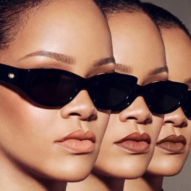 Rihanna sunglasses face shape