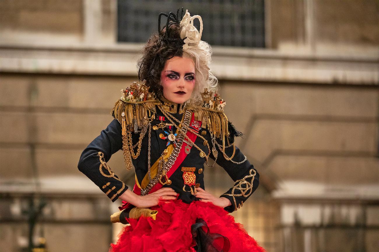 Emma Stone as Cruella
