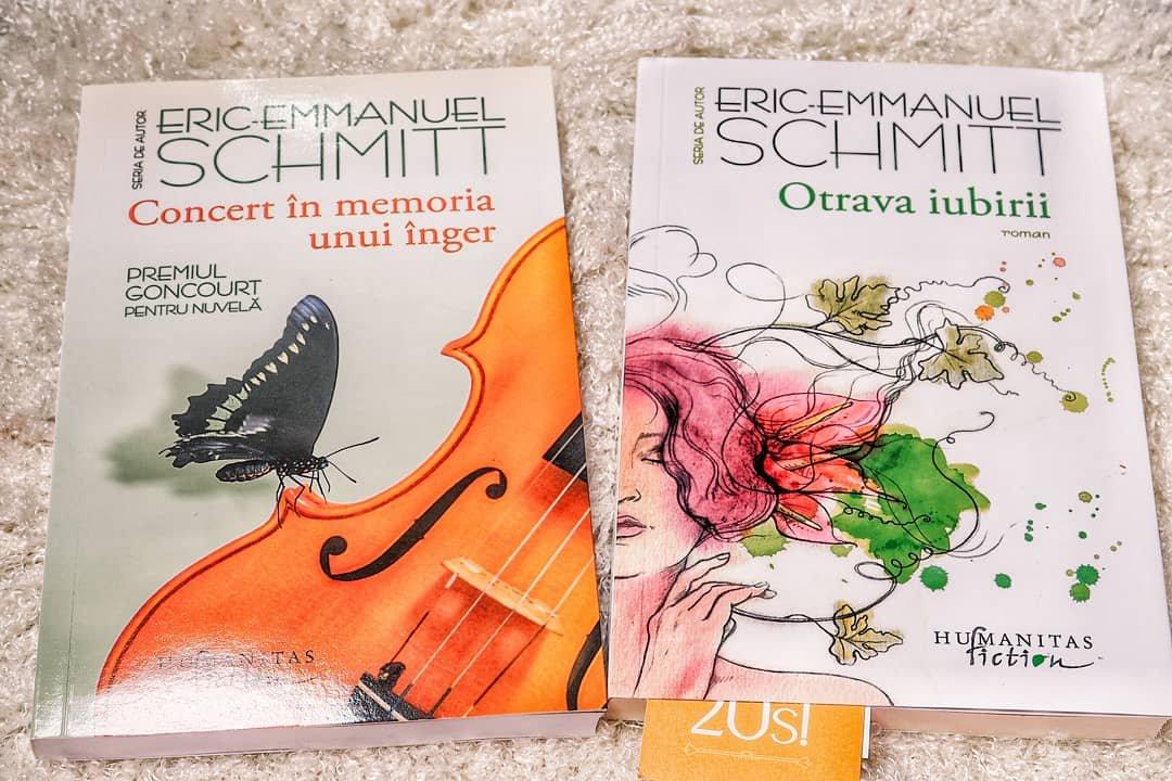 Două carți de Eric Emmanuel Schmitt care merita