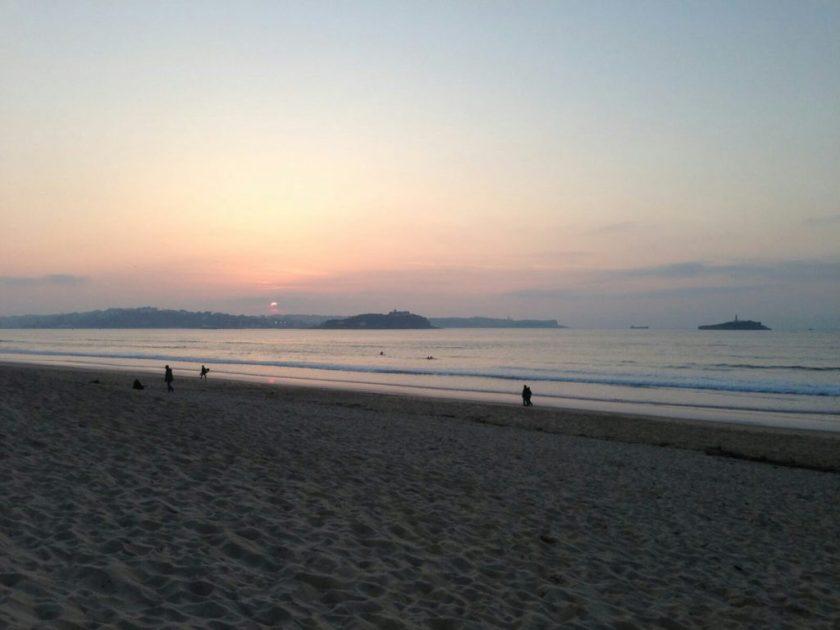 Somo (Cantabria). Viernes 18 de Mayo 2018 frussurf