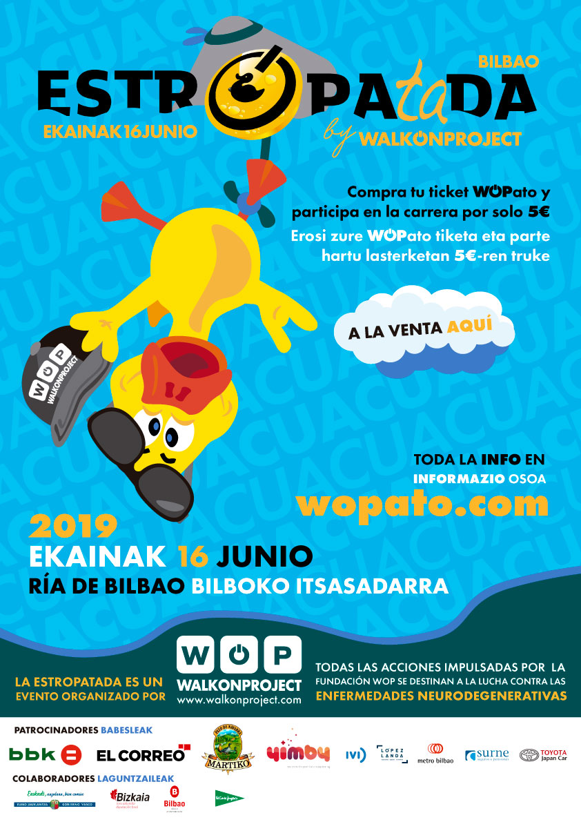 Tickets para la Estropatada de Wopatos en la ría de Bilbao