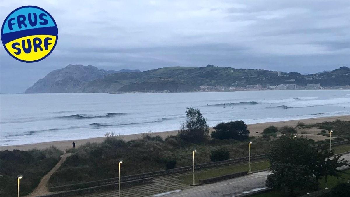 Olas hoy en Laredo (Cantabria)