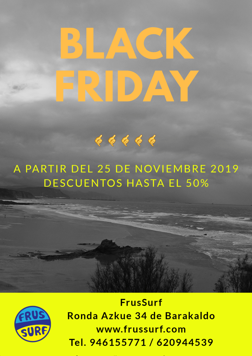 Black friday en frussurf