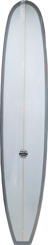"Longboard Clásico FrusSurf 9'6'' x 23 5/8"" x 3 1/16"" con brillo medidas"