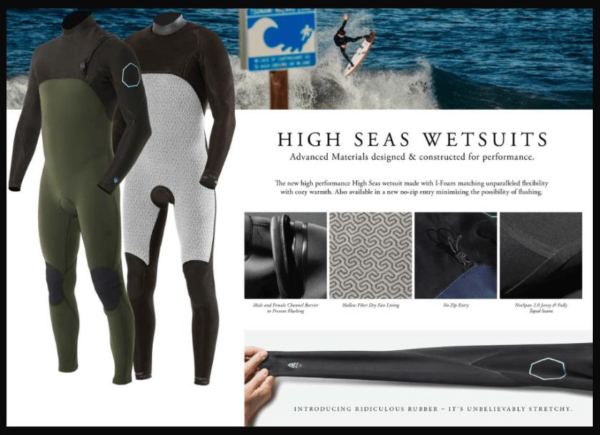 Traje-de-Neopreno-Vissla-High Seas
