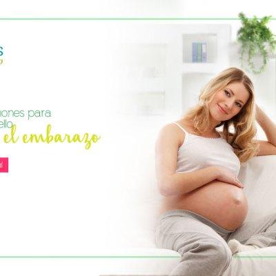 Recomendaciones para cuidar el cabello durante el embarazo