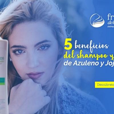 Conoce los beneficios del Shampoo y el Tratamiento de Azuleno y Jojoba para el cabello