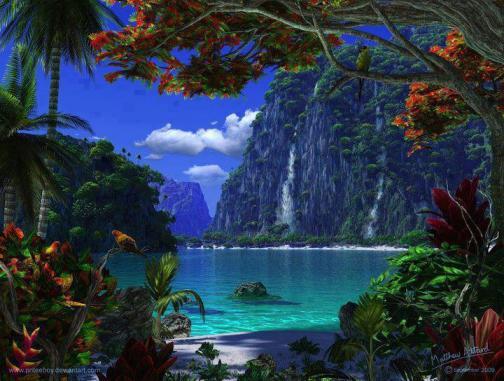 paesaggio lindo