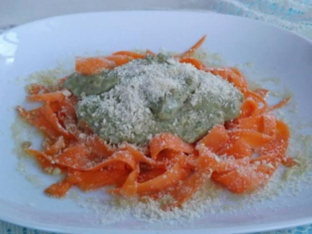 Fettucine di carote (2)