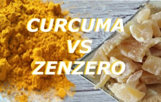 Le Spezie Curcuma e Zenzero