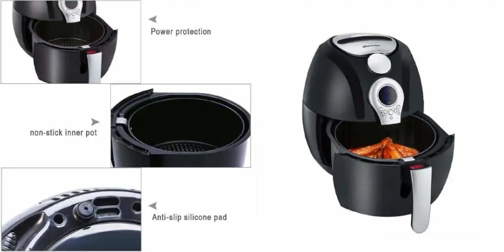 What Others Say About Blusmart Power Air Fryer