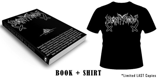 BLASPHEMOUS Book shirt