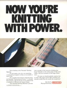 Now you're knitting with power