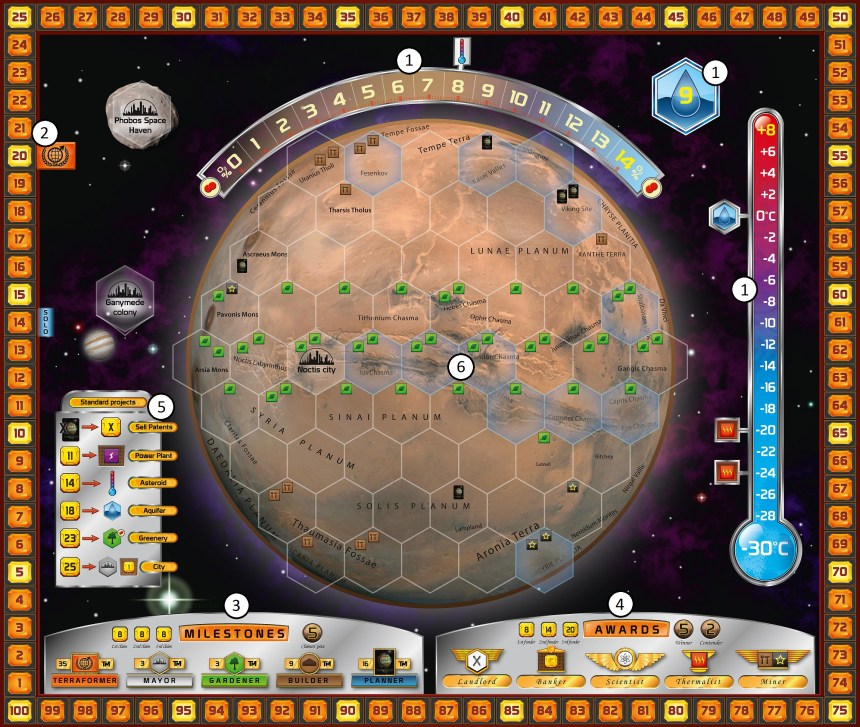 Image result for terraforming mars board game