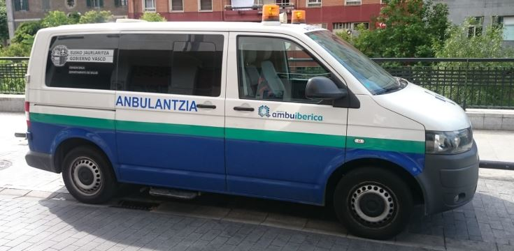 Servicio de ambulancias de Osakidetza: Dos meses despues contestan pero siguen sin dar respuesta a la situación