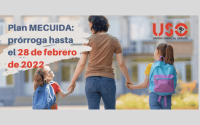 """""""Plan Me Cuida"""" nueva prórroga hasta el 28 de febrero de 2022"""