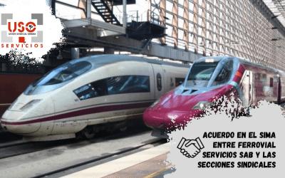 Acuerdo en el SIMA entre Ferrovial Servicios SAB y las Secciones Sindicales