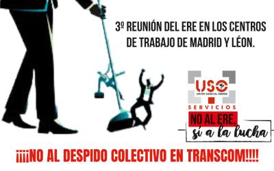 Tercera reunión del ERE de Transcom en Madrid y León.