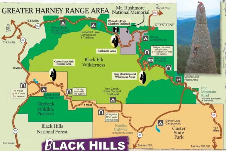 map of the black hills area » Free Interior Design | Mir Detok