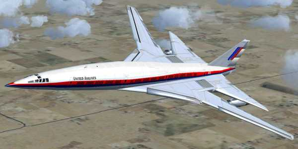 Boeing 2707 SST United