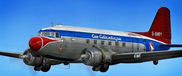 C-47 ( V2 ) G-AMPY - 002