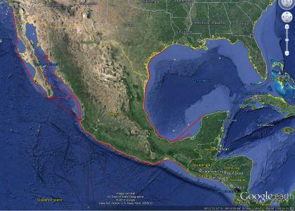 Routes for Mexico