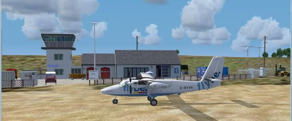 (01) Twin Otter at Barra