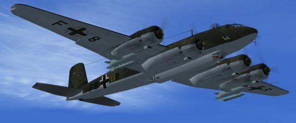 FW-200 Condor Bomber