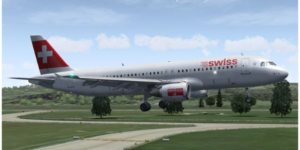 Welcome to Perfect Flight » FS2004 – Airbus A320-214 Swissair