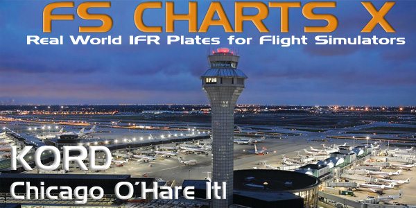 Welcome To Perfect Flight Fs Charts X Kord Chicago Ohare Intl