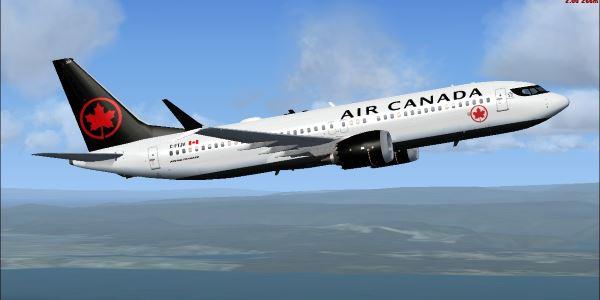 air canada 737 max 8 business class
