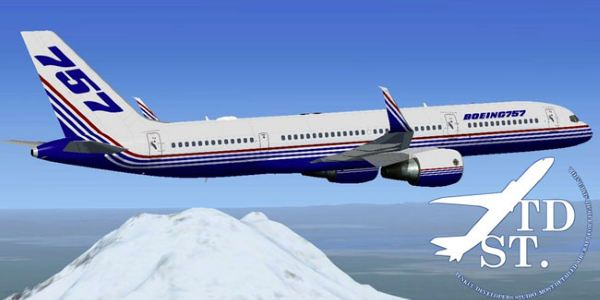 Welcome to Perfect Flight » FSX/FS2004 – TDS Boeing 757-200 PAX Model