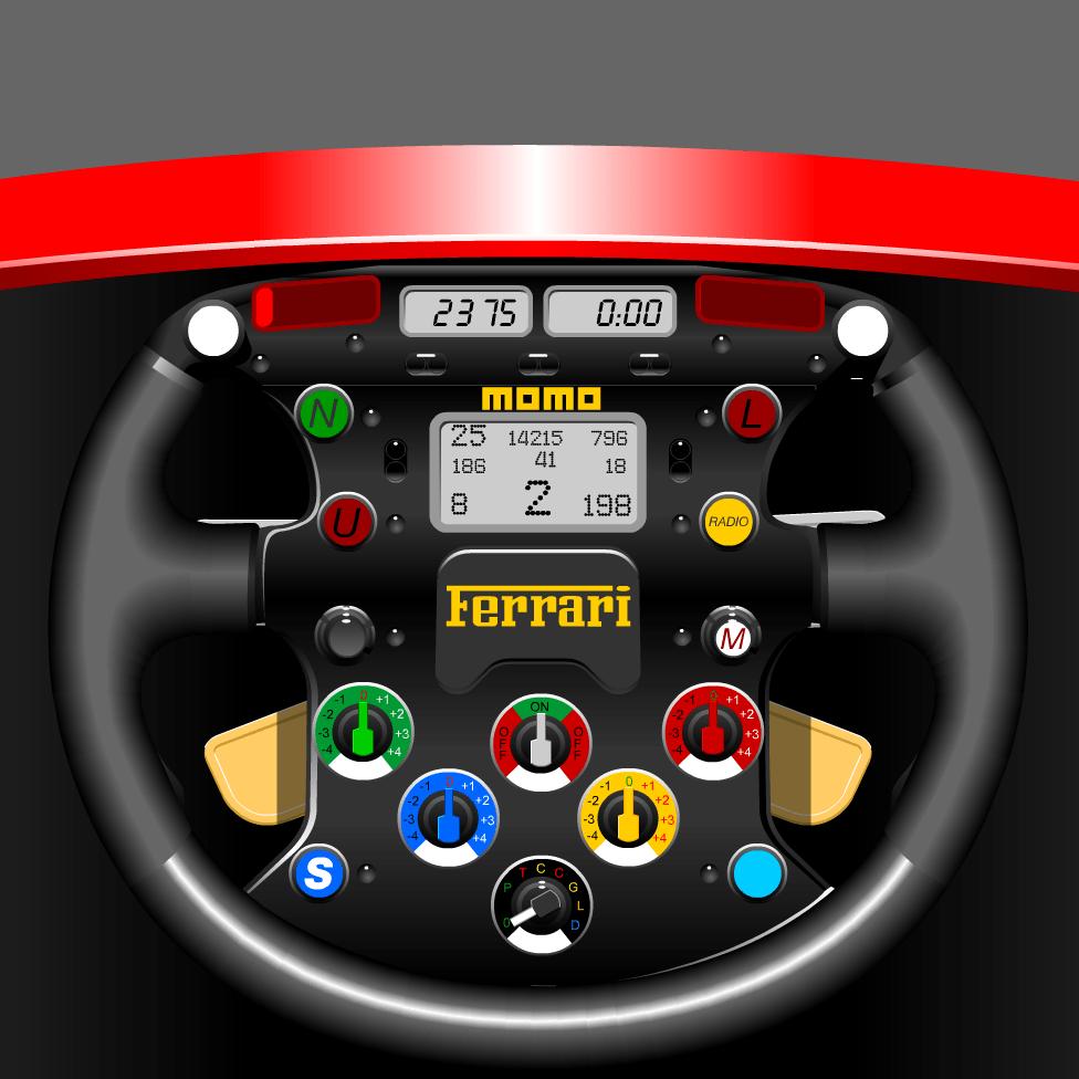 Ferrari weel Flash animation