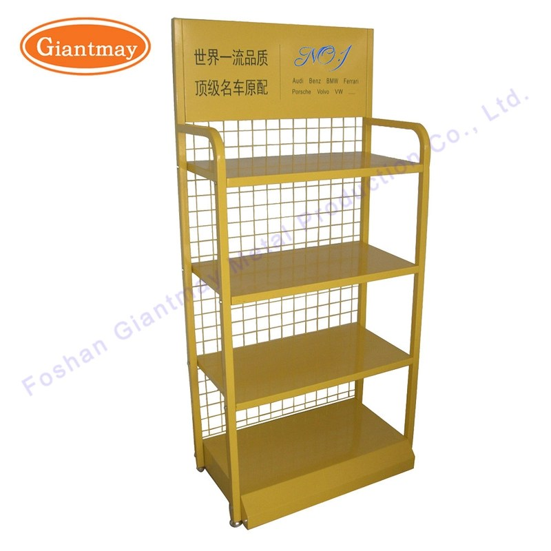 quality pegboard display stand slatwall display stand factory