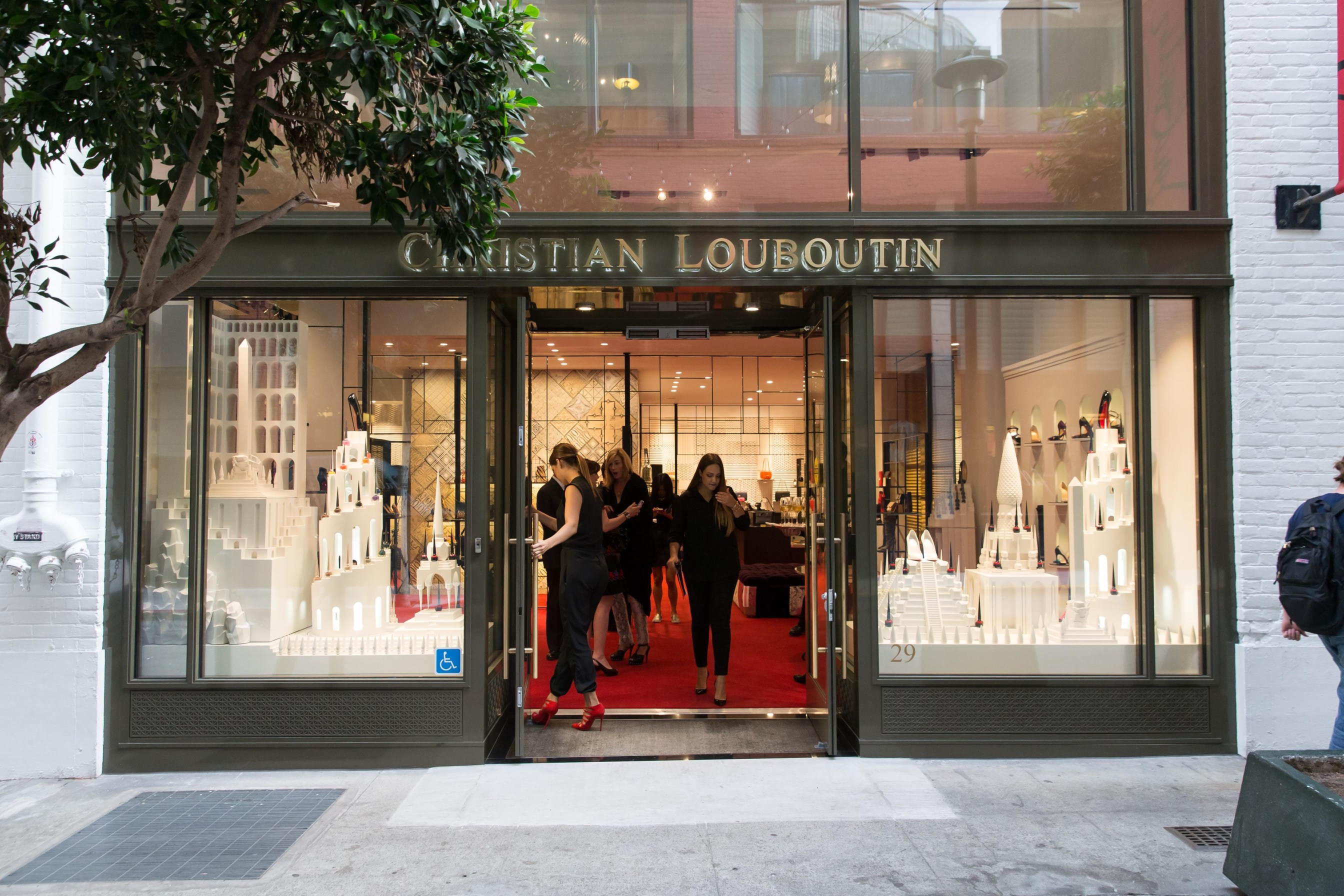 San Francisco 9a783 e9887 Christian Louboutin Celebrates The Opening of the Brand's ...