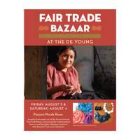Fair Trade Bazaar at the de Young