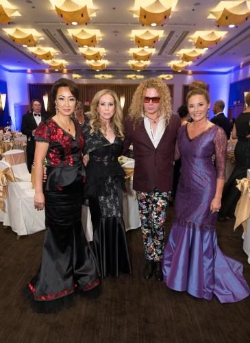 Lisa Kang, Sophie Azouaou, Vasily Vein, Judy Davies