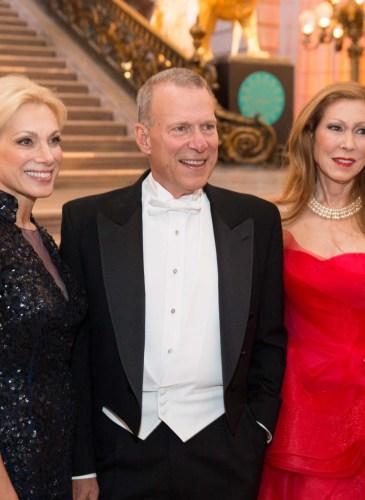 Cynthia Schreuder, David Gockley, Teresa Medearis