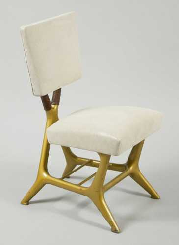 Gio Ponti & Giulio Minoletti chair from Bernd Goeckler Antiques, Inc.