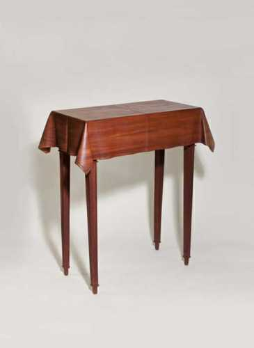 Wendell Castle Trompe l'Oeil Table from Lillian Nassau