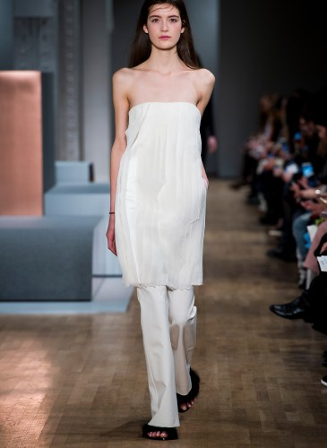 New York woman fashion Week Fall Winter 2015-16TIBI  show