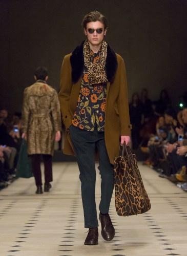 Burberry Prorsum Menswear Autumn_Winter 2015 Collection - Look 22