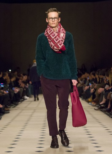 Burberry Prorsum Menswear Autumn_Winter 2015 Collection - Look 38