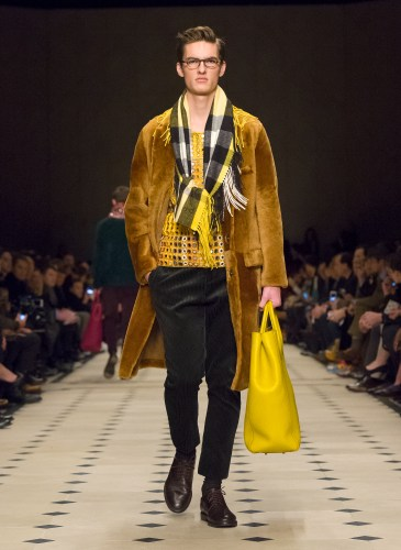 Burberry Prorsum Menswear Autumn_Winter 2015 Collection - Look 39