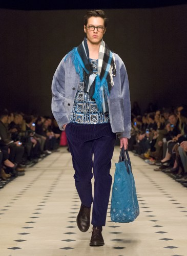 Burberry Prorsum Menswear Autumn_Winter 2015 Collection - Look 42