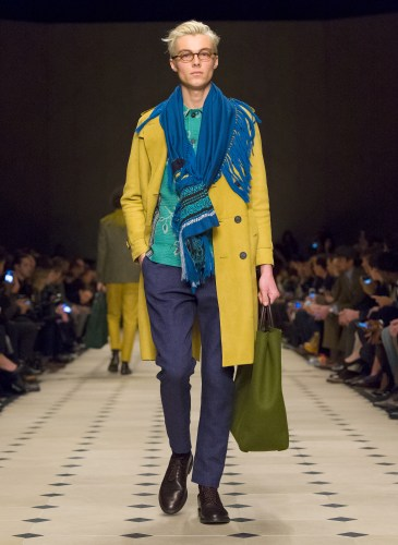 Burberry Prorsum Menswear Autumn_Winter 2015 Collection - Look 5
