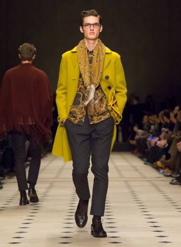 Burberry Prorsum Menswear Autumn_Winter 2015 Collection - Look 7